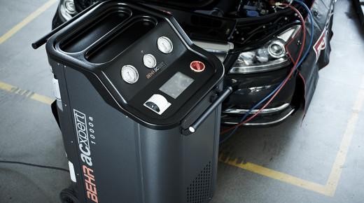 Projekt stacji do serwisowania układów klimatyzacji dla firmy Behr