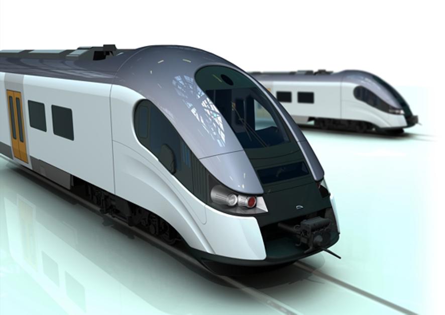 pociąg zespolony ELF - projekt Bartosz Piotrowski PESA (zdjęcie: archiwum autora)