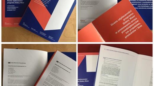 Raporty z badań polskiego wzornictwa zrealizowane przez Instytut Wzornictwa Przemysłowego