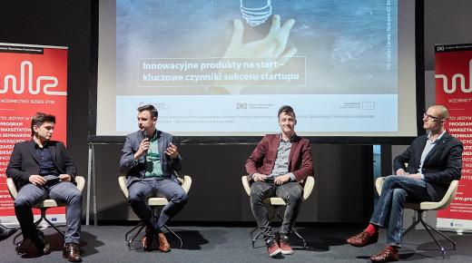 """Innowacyjne produkty na start - wywiady z panelistami II Seminarium WBZ """"Młody biznes w oparciu o design. Start it up!"""""""