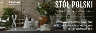 """Wystawa """"Stół Polski. La Tavola Polacca"""""""