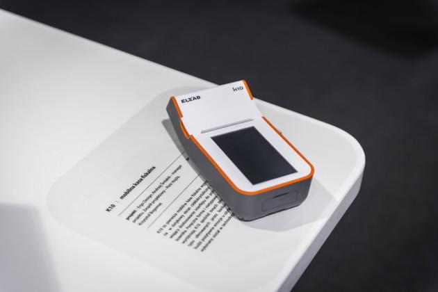 Elzab K10 - mobilna kasa fiskalna, prod. Elzab, proj. ergo:DESIGN