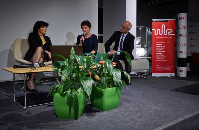 od lewej: Bożena Gargas, prezes IWP, Iwona Wendel, wiceminister infrastruktury i rozwoju oraz Lech Pilawski, Dyrektor Generalny Konfederacji Lewiatan