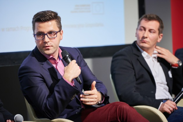od lewej Jacek Błonski (Zernike Meta Ventures), Mariusz Turski (AIP Seed Capital)