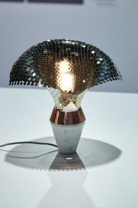 Lampa Eye of the Light, proj. Małgorzata Mozolewska, prod. MMozolewska Studio