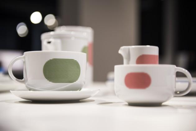"""New Atelier ceramika stołowa, projekt Marek Cecuła, producent Polskie Fabryki Porcelany """"Ćmielów"""" i """"Chodzież"""" SA"""