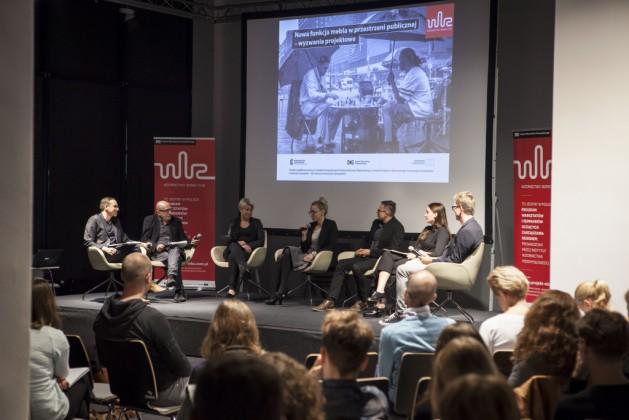 Panel 2, od lewej Mikołaj Wierszyłłowski, prof. Marek Adamczewski, Lidia Kowalska-Getler, Katarzyna Bukowiecka, Michał Gdak, Aleksandra Szewc, dr Tomek Rygalik