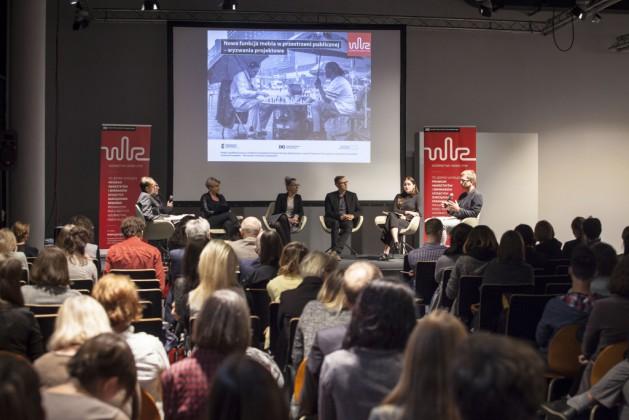 Panel 2, od lewej Mikołaj Wierszyłłowski, Lidia Kowalska-Getler, Katarzyna Bukowiecka, Michał Gdak, dr Tomek Rygalik