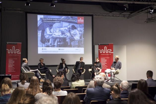 Panel 2, od lewej Mikołaj Wierszyłłowski, Lidia Kowalska-Getler, Katarzyna Bukowiecka, Michał Gdak, Aleksandra Szewc, dr Tomek Rygalik