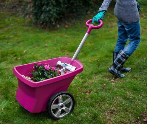 Wózek ogrodowy/projekt: Ergo Design/ producent: ZMM Maxpol