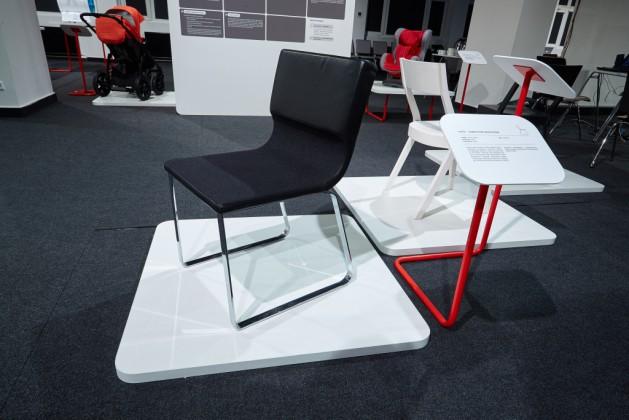 Krzesło Comma, prod. NOTI, proj. Renata Kalarus