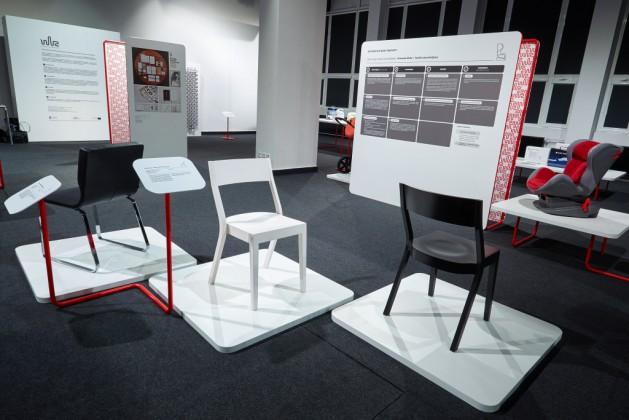 Krzesło Bumerango, prod. Paged Meble, proj. Jadwiga Husarska-Sobina