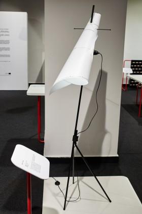 Lampa Roll it up, proj. Wierszyłłowski i Projektanci, prod. Meble VOX
