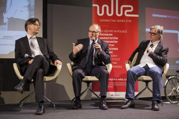 od lewej: Dariusz Koba (Koba Consulting Group), Dariusz Michalak (Solaris Bus&Coach S.A.), Jens Timmich