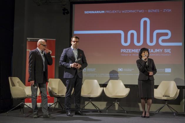 Łukasz Puchalski, Marek Adamczewskie, Bożena Gargas, prezes IWP