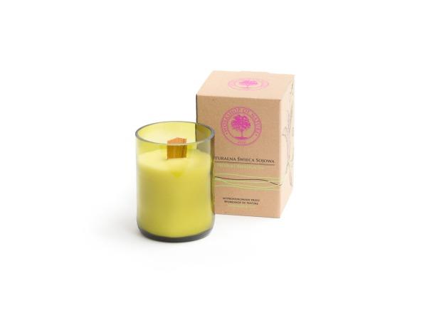 Naturalna Świeca Sojowa Bottle Candle