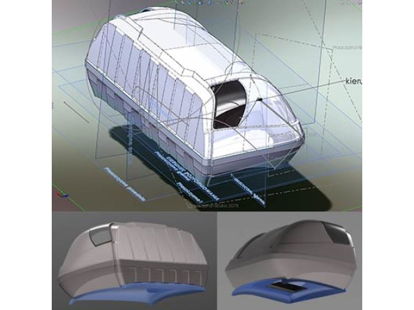 Kabina sypialna na Peugeot Boxer