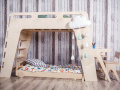 Łóżko piętrowe LULU