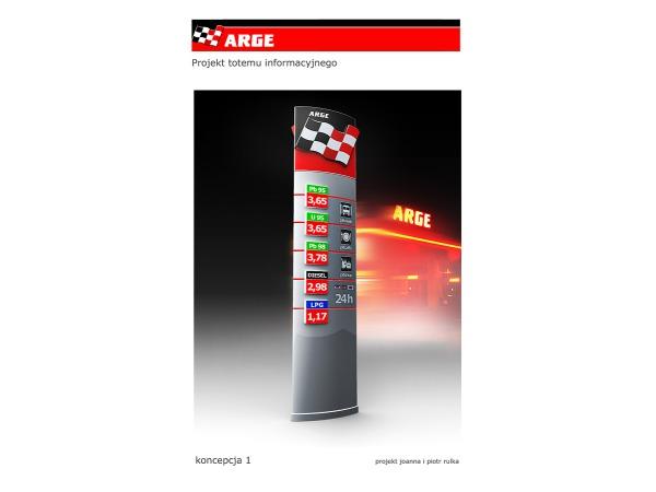 ARGE identyfikacja sieci stacji