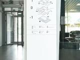 System informacji wizualnej w Pasażu Andromeda