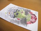 Ilustracja z wystawy, Wuppertal, Niemcy