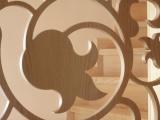 Witraż drewniany w stylu zakopiańskim