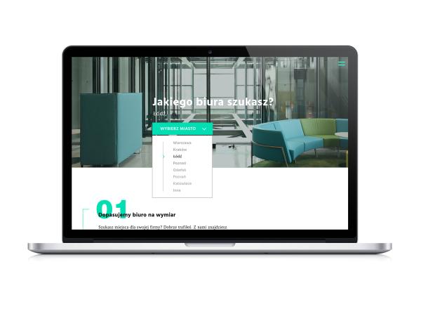 Projekt WWW Biuro na miarę