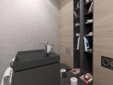 Projekt toalety w apartamencie 100m Warszawa
