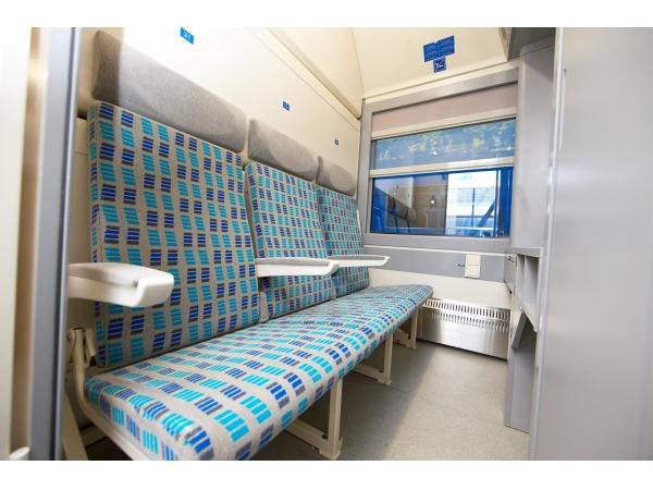 Wagon sypialny – wagon 7034 (RIC) dla kolei ukraińskich