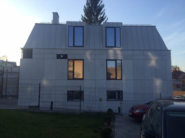 Elewacja z betonu GRC