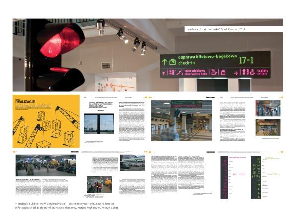 System informacji wizualnej dla Międzynarodowego Portu Lotniczego Katowice w Pyrzowicach