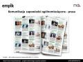 Projekt komunikacji wydarzeń dla sieci Empik