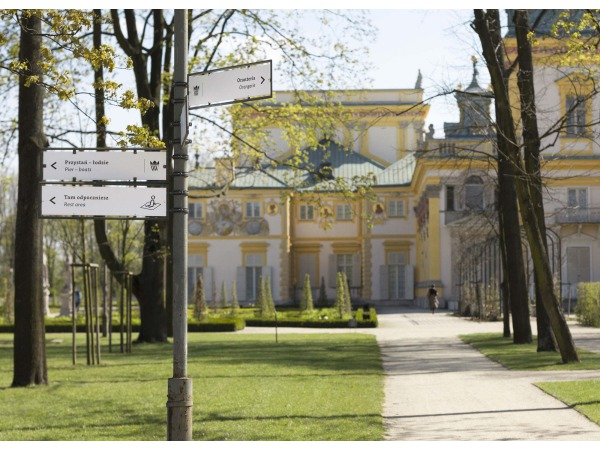 System informacji i identyfikacji wizualnej Muzeum Pałacu w Wilanowie
