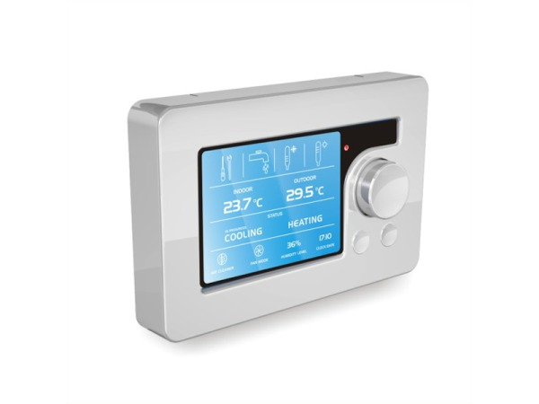 """Multifun-PX - regulator z 3,5"""" calowym ekranem kolorowym do kotłów"""