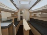 wnętrze jachtu Maxus 26