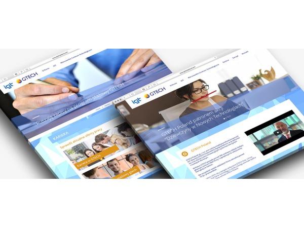 Projekt strony internetowej dla firmy GTECH Poland