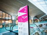 System informacji wizualnej w Galerii Katowickiej