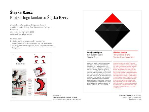 "Logo konkursu ""Śląska Rzecz"""