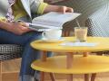rodzina stolików kawowych  UFO