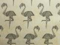 Tkanina Flamingi (Błękit)
