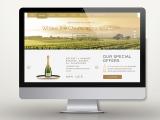 Projekt strony francuskiego sklepu online Envie de Champagne