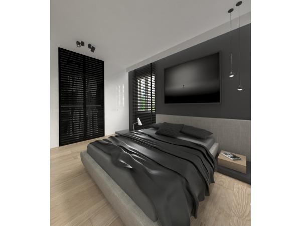 Projekt sypialni Warszawa