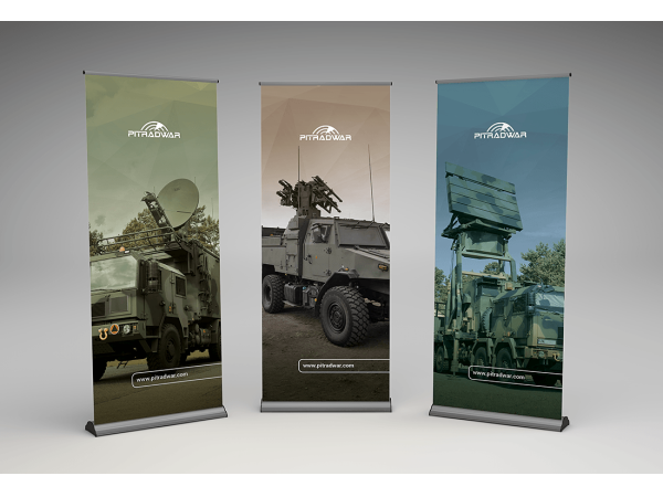 Identyfikacja wizualna oraz projekty reklam prasowych PIT-RADWAR SA