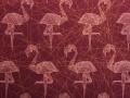 tkanina Flamingi (bordo)