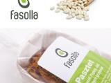 """Identyfikacja wizualna marki """"Fasolla"""""""