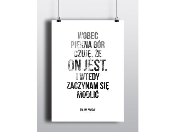 Plakaty typograficzne i graficzne