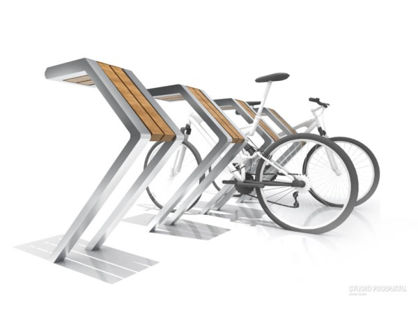 Projekt stojaka na rowery
