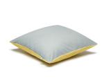 Poduszka szary-żółty