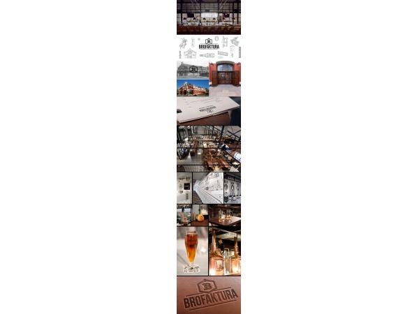 Branding restauracji i browaru BROFAKTURA