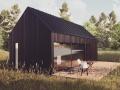 Czarna stodoła - domek letniskowy